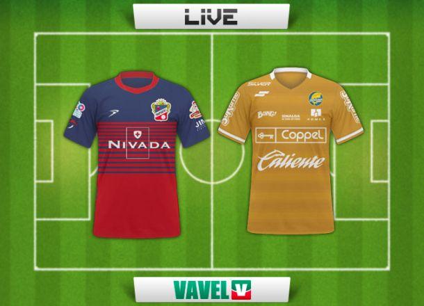 Resultado Irapuato - Dorados en el Ascenso MX 2015 (0-0)