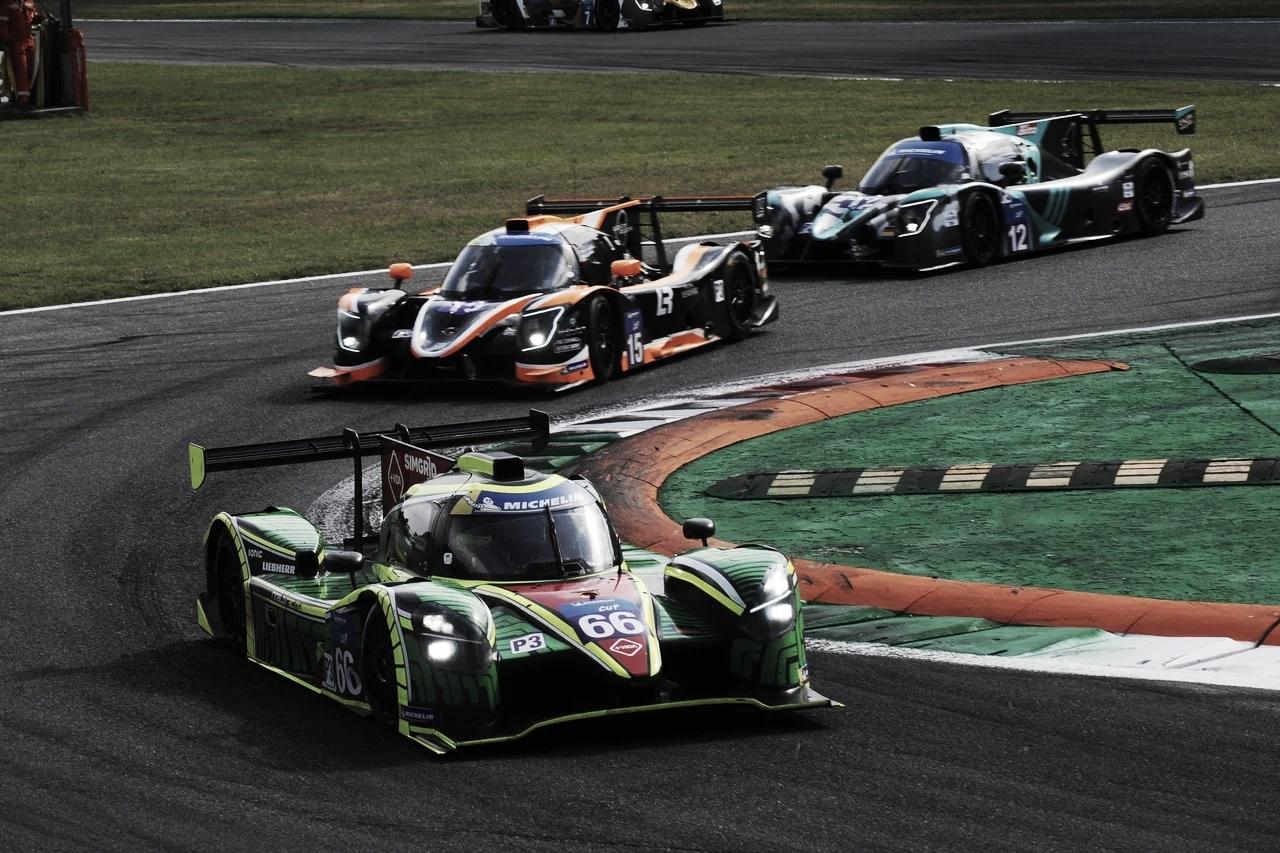 Podio Albiceleste y Pole Position, en Monza