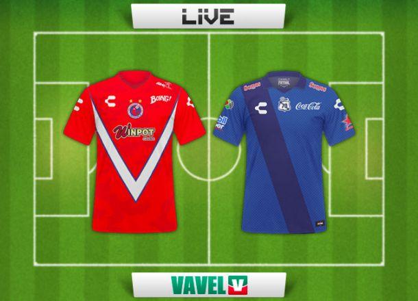 Resultado Veracruz - Puebla (3-1)