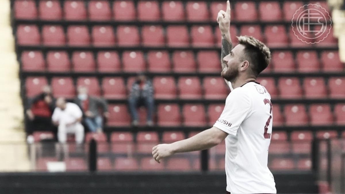 Colón perdió 4-1 frente a Lanús