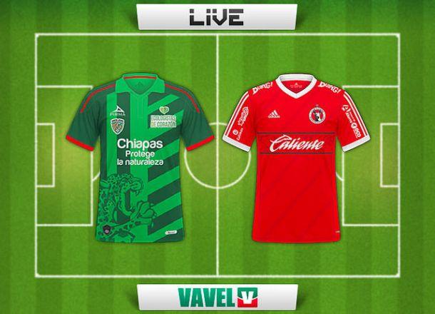 Resultado Jaguares de Chiapas - Xolos de Tijuana en la Liga MX 2015  (2-2)