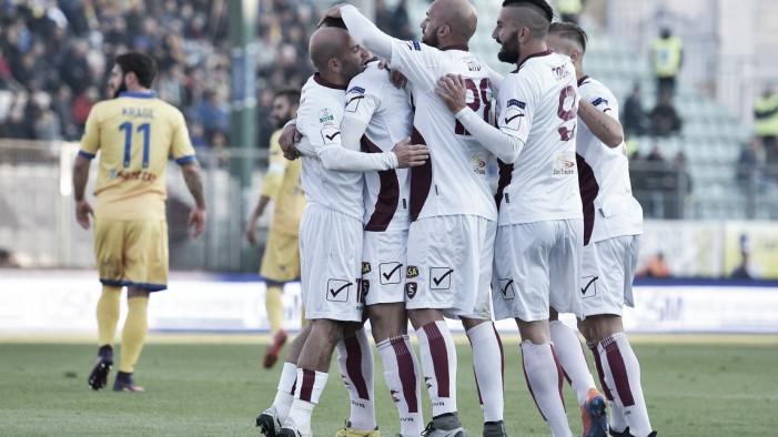 Serie B: le ultime verso Salernitana-Frosinone