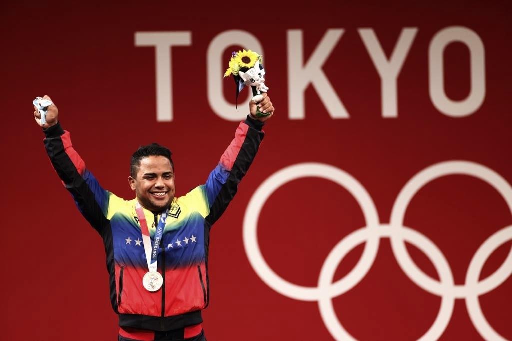 Keydomar Vallenilla da una nueva medalla a Venezuela en Halterofilia