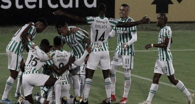 Puntuaciones de Atlético Nacional en su pase a la tercera fase de Copa Libertadores
