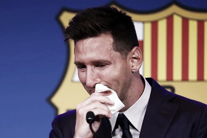 """Lionel Messi: """"Nunca imaginé mi despedida porque no lo pensaba"""""""