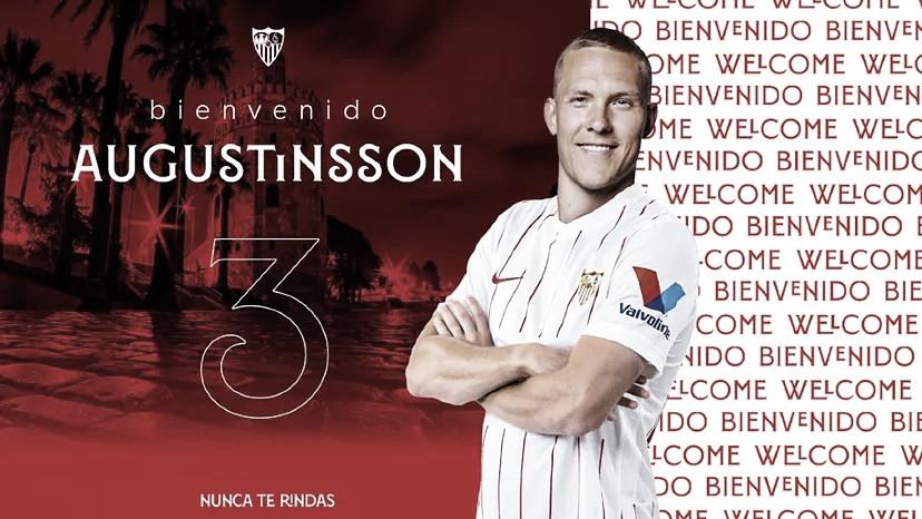 Ludwig Augustinsson, cuarto refuerzo del Sevilla FC