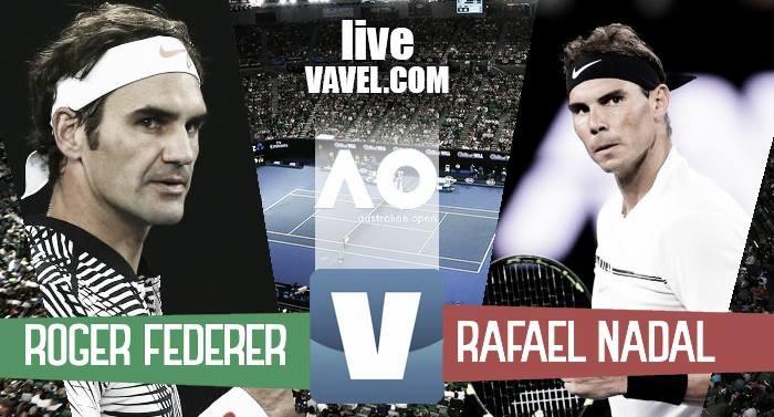 Federer - Nadal in la finale Australian Open 2017 - Roger, è 18!(3-2)