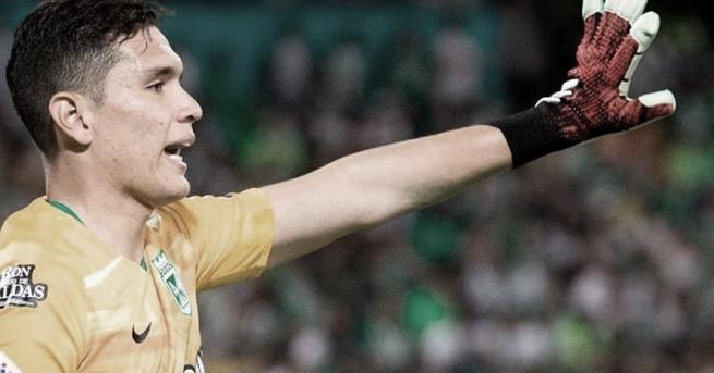 Aldair Quintana, el jugador destacado de Atlético Nacional ante Deportes Quindío