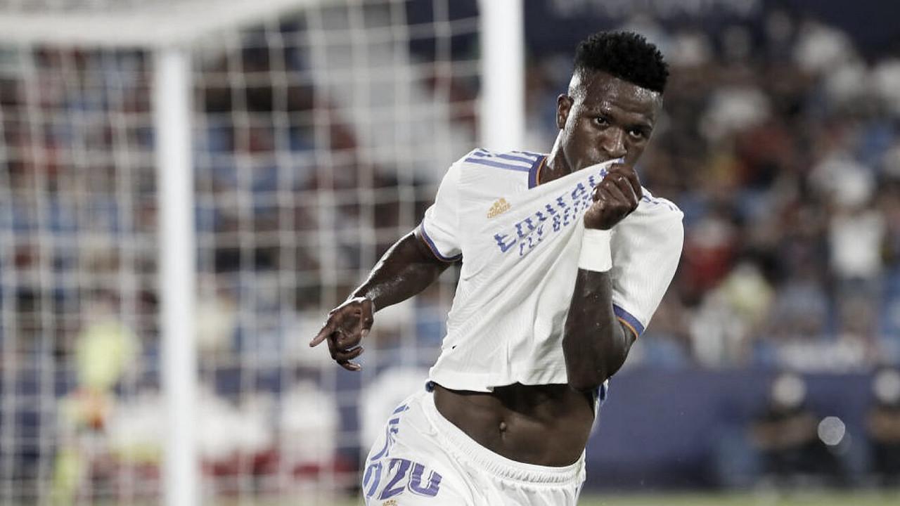 """Vinicius: """"Para el Madrid nunca es bueno un punto"""""""