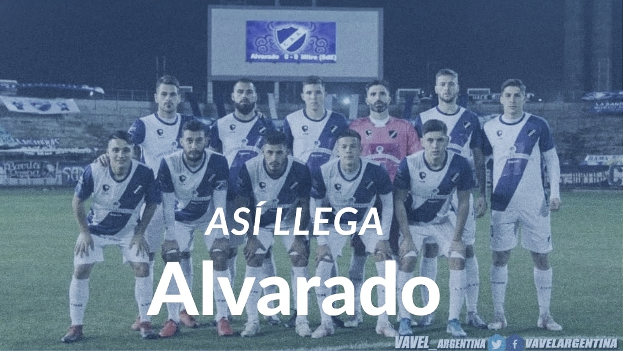 Así llega Alvarado