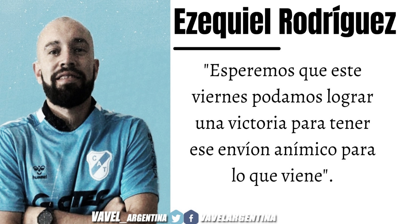 Ezequiel Rodriguez: ''Ojalá pueda seguir mejorando y aportar en lo máximo al equipo''
