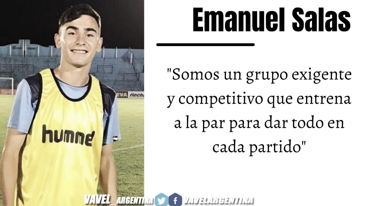 Emanuel Salas: ''El grupo está mentalizado en sacar el partido adelante''