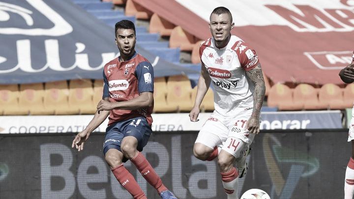 Puntuaciones en el DIM tras el empate frente a Independiente Santa Fe