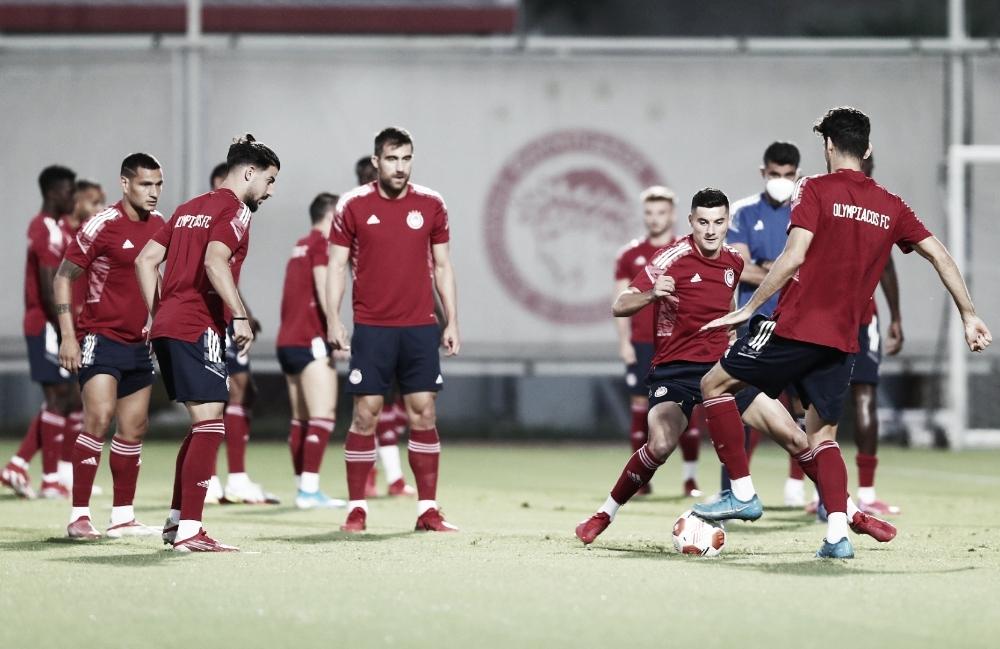 Gols e melhores momentos para Olympiacos 2x1 Royal Antwerp pela Europa League