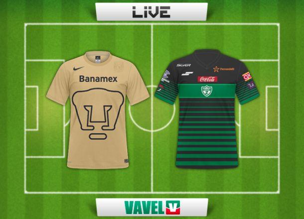 Resultado Pumas - Zacatepec en Copa MX Clausura 2015 (1-0)