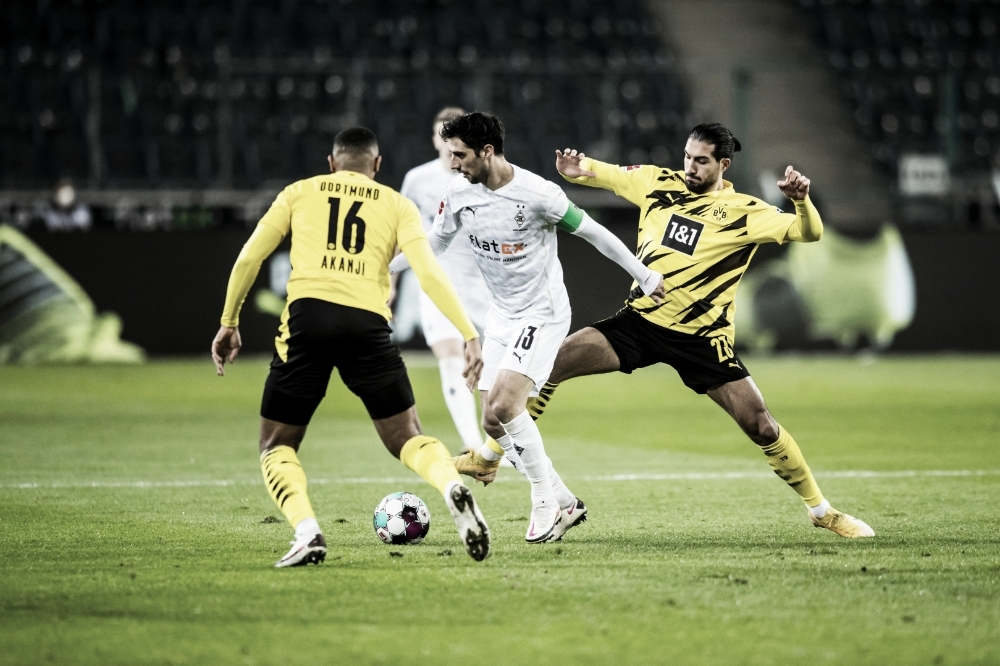 Goal and Highlights: Borussia Monchendgladbach 1-0 Borussia Dortmund in Bundesliga