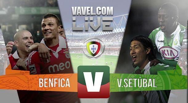 Benfica x Vitória de Setúbal    na Liga NOS (3-0)