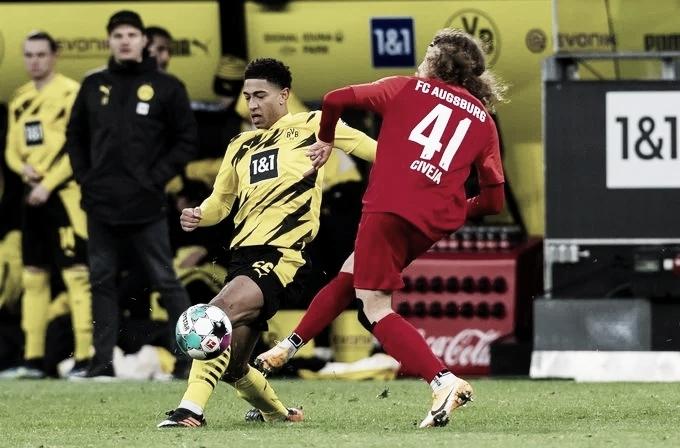Goals and Highlights: Borussia Dortmund 2-1 Augsburg in Bundesliga