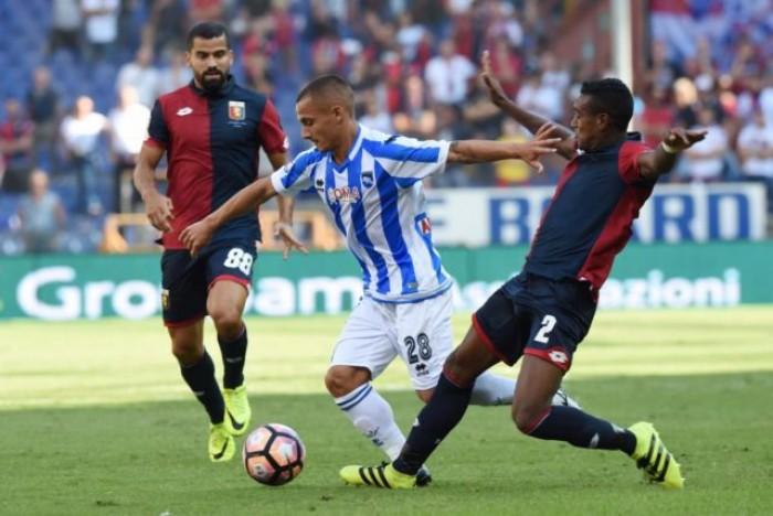 Serie A, Manaj risponde a Simeone: 1-1 tra Genoa e Pescara