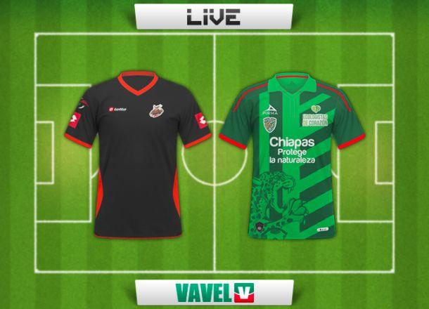 Resultado Alebrijes - Chiapas en Copa MX 2015 (0-2)