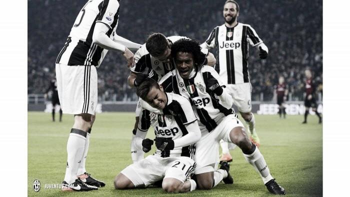 Dybala marca, Juventus bate Milan e garante vaga nas semifinais da Copa Itália