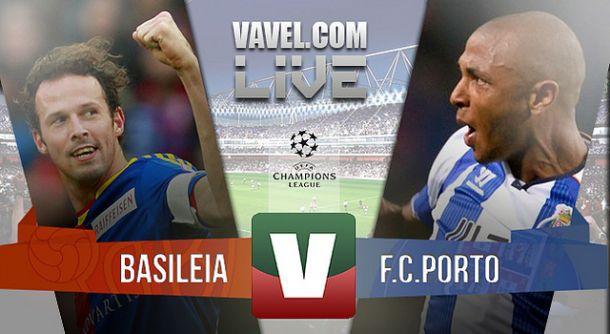Basileia x Porto    na Liga dos Campeões (1-1)