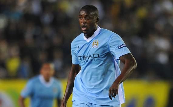 Touré Yaya podría marcharse del Manchester City el próximo verano