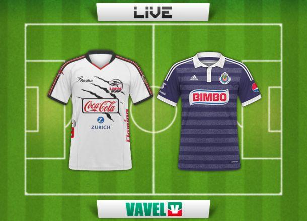 Resultado Lobos BUAP - Chivas en Copa MX 2015 (0-1)