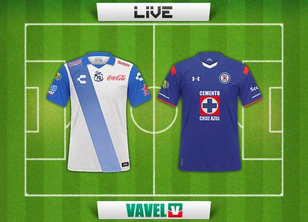 Resultado Puebla - Cruz Azul Liga MX 2015 (0-0)
