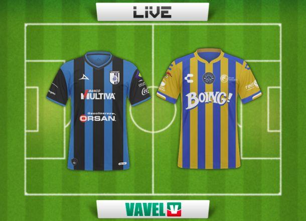 Resultado Querétaro vsAtlético San Luisen Copa MX 2015 (3-2)