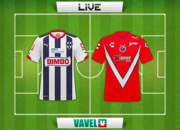 Resultado Rayados de Monterrey - Veracruz en la Liga MX (1-1)