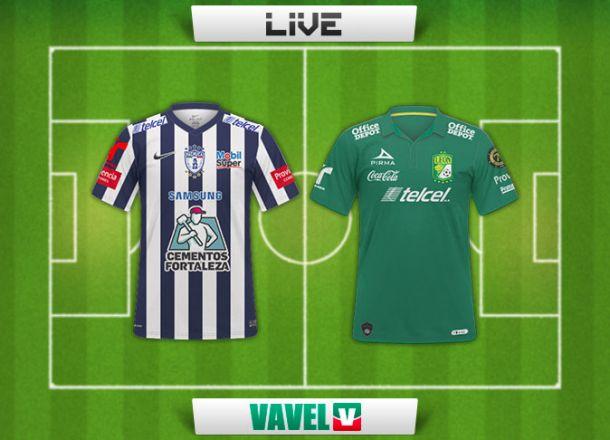 Resultado Pachuca - León en Liga MX 2015 (2-1)