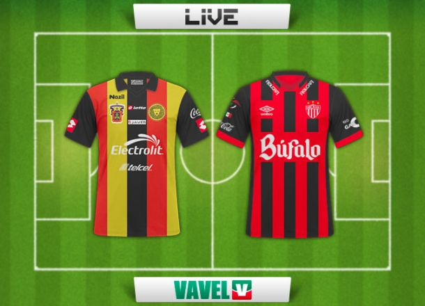 Resultado Leones Negros - Necaxa en Copa MX 2015 (2-0)