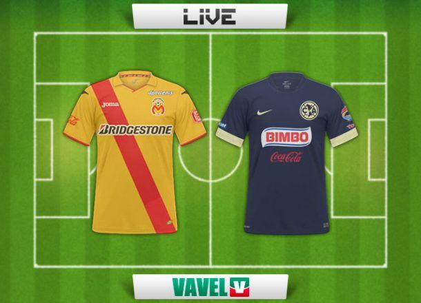 Resultado Morelia - América en Liga MX 2015 (2-2)