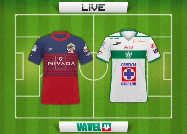 Resultado Irapuato - Zacatepec en Ascenso MX 2015 (1-0)
