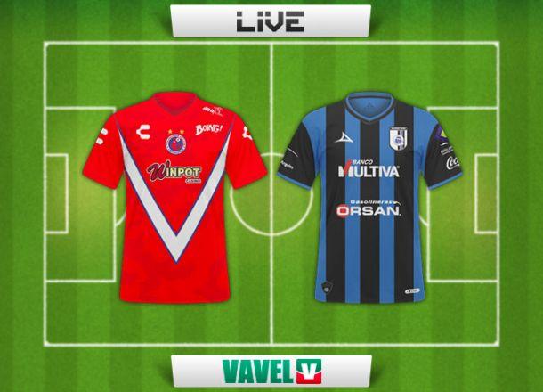 Resultado Veracruz - Querétaro en la Liga MX 2015 (1-1)