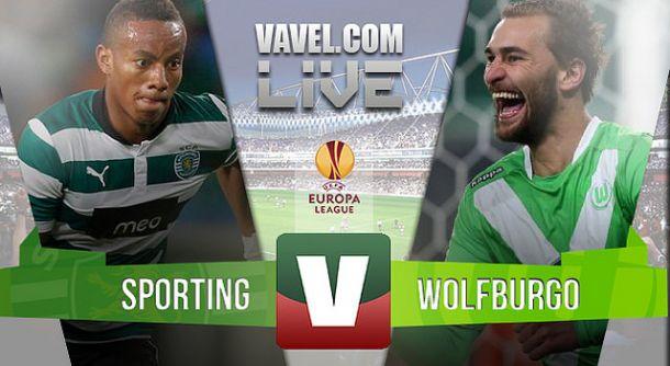 Sporting x Wolfsburgo    na Liga Europa (0-0)