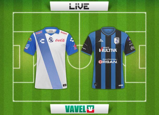 Resultado Puebla - Querétaro en Liga MX 2015 (4-1)