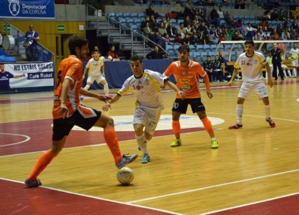 Ribera Navarra consigue una ajustada victoria en Santiago