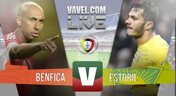 Resultado Benfica x Estoril na Liga NOS 2015 (4-0)