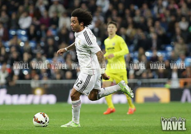 "Marcelo: ""Lo intentamos hasta el final, pero el balón no ha entrado"""