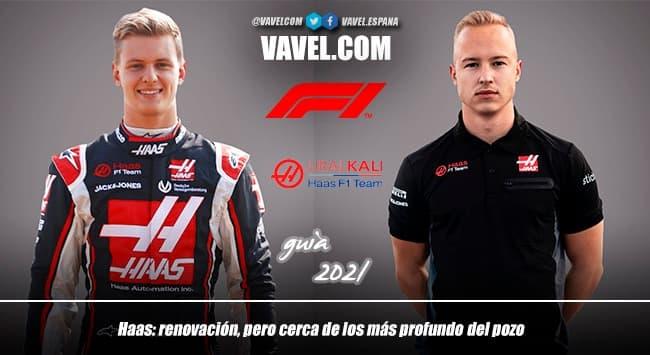 Guía VAVEL F1 2021: Haas, renovación, pero cerca de los más profundo del pozo