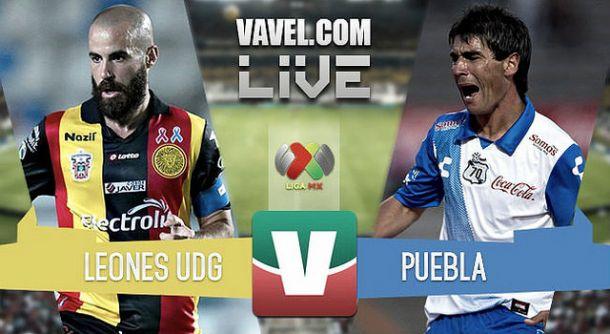 Resultado Leones Negros - Puebla en la Liga MX 2015 (1-1)