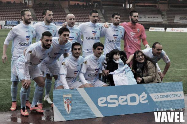 Fotos e imágenes del SD Compostela 2-0 Marino de Luanco de la jornada 27, Segunda División B Grupo I