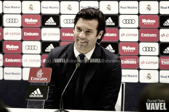 """Santiago Solari: """"hay muchos jugadores que están bien"""""""