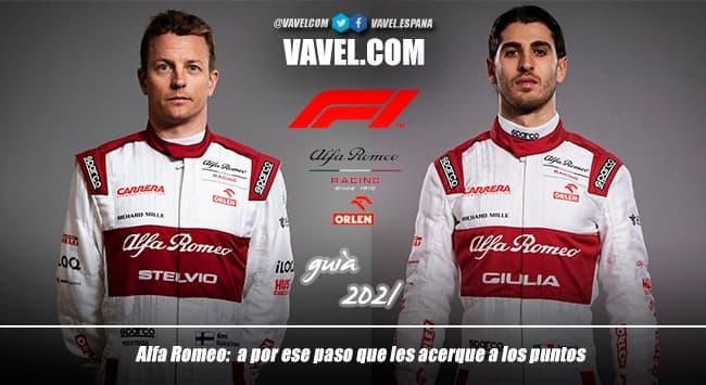 Guía VAVEL F1 2021: Alfa Romeo Orlen, a por ese paso que les acerque a los puntos
