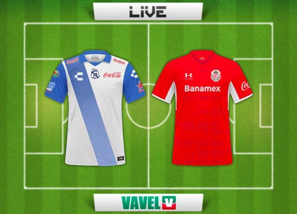 Resultado Puebla - Toluca en Copa MX 2015 (1-0)