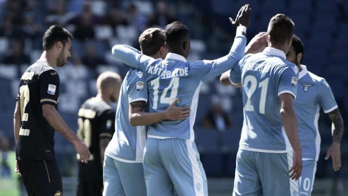 Lazio: archiviato il 6-2 con il Palermo, testa alla Roma