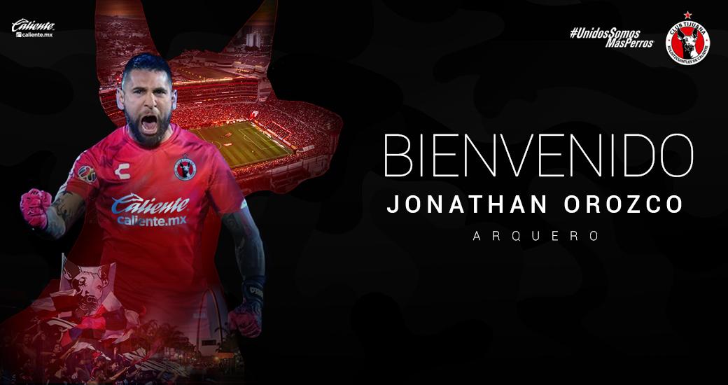 Jonathan Orozco, nuevo arquero de Xolos