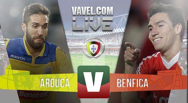 Resultado Arouca vs Benfica en la Liga Portuguesa (1-0)